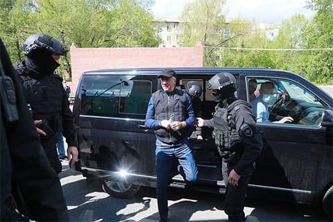 Анатолий Быков - арест