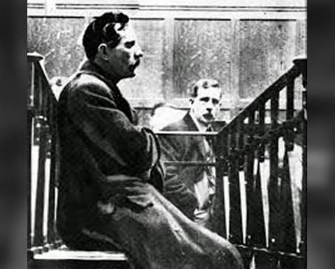Джордж Смит на суде