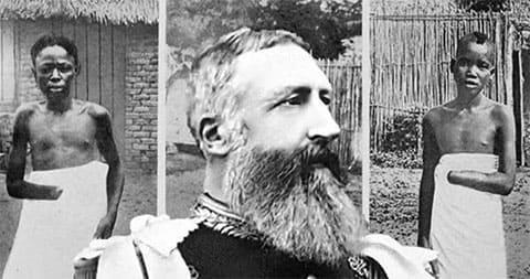 Король Бельгии Леопольд II и жертвы его режима