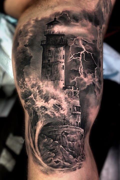 Тату маяк