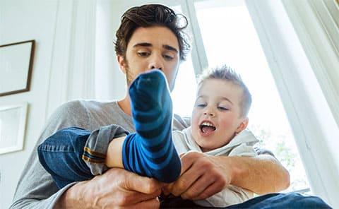 Определение порядка общения с ребёнком