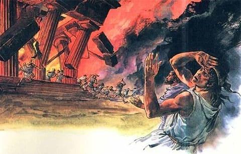 Пожар в храме Артемиды