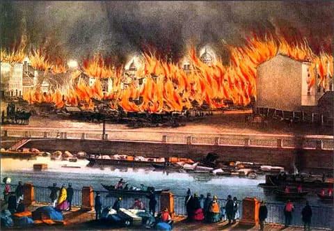 Великий пожар в Санкт-Петербурге