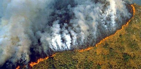 Самый большой пожар в мире