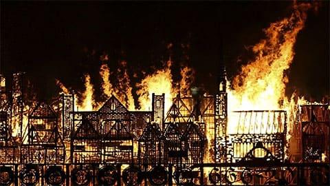 Великий пожар в Лондоне в 1666