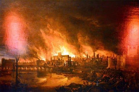 Пожар в Лондоне 1666 года