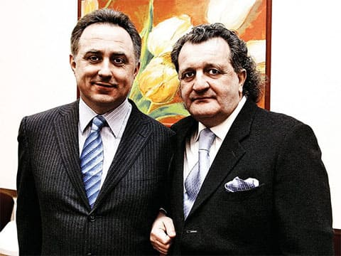 Слева: Виталий Мутко и Шабтай Фон Калманович