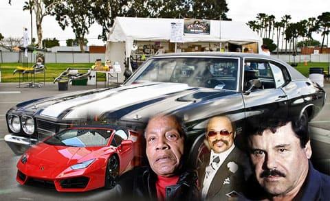 Автомобили известных наркобаронов