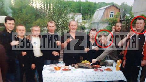 Середина 2000-х. Сергей Фургал и Андрей Карепов за одним столом