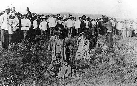 Казнь хунхузов в ходе русско-японской войны