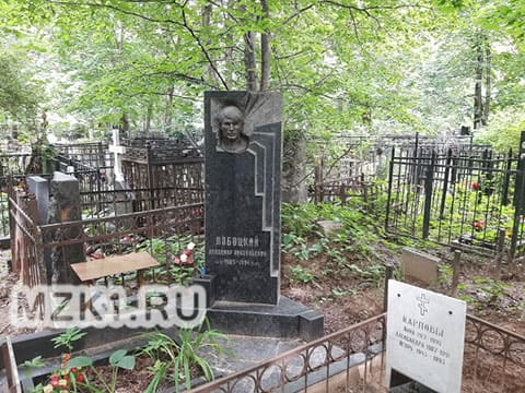Могила Владимира Лабоцкого