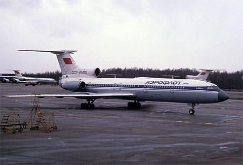 Ту-154, аналогичный захваченному