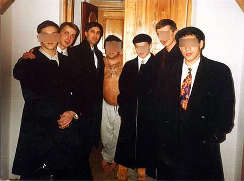 Третий слева: Анатолий Быков