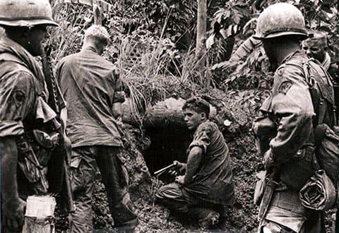 Вход во Вьетнамский тоннель