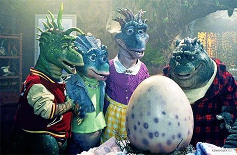 """Кадр из ситкома """"Динозавры"""""""