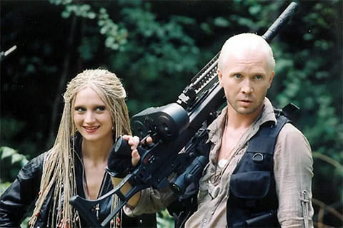 "Кадр из фильма ""Охота на пиранью"" (2006)"