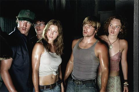 """Кадр из фильма """"Техасская резня бензопилой"""", 2003 года"""