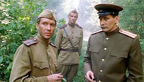 "Кадр из фильма ""В августе 44-го"""
