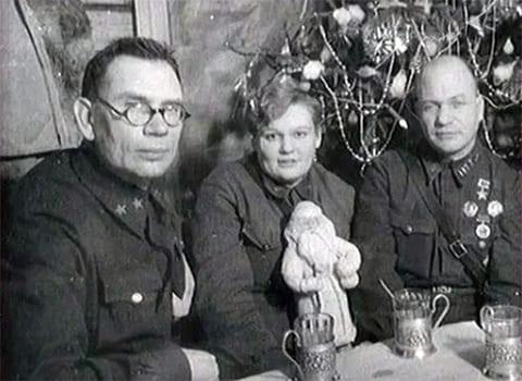 Слева: Андрей Власов и Агнесса Подмазенко