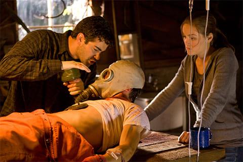 """Кадр из фильма """"Замученный"""", 2009 года"""