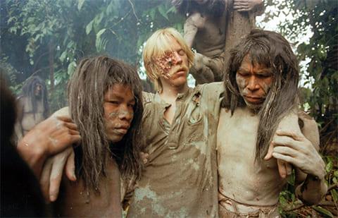 Кадр из фильма «Ад каннибалов» (1979)