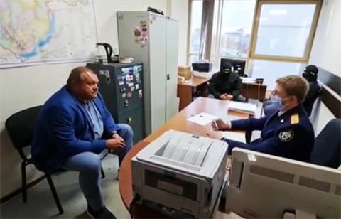 Александр Душин - задержание