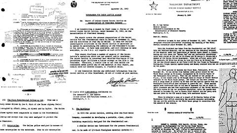 Рассекреченные документы расследования убийства Джона Кеннеди