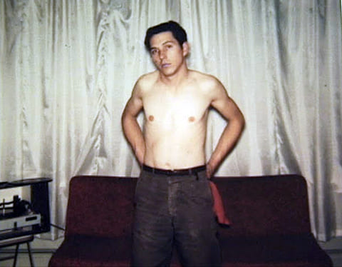 Джеймс Файлз в молодости