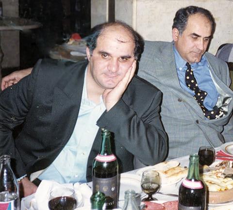 Слева: Мириан и Анзор Мамедовы
