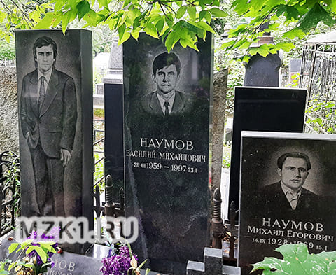 Могила братьев Наумовых