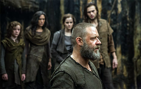 Кадр из фильма «Ной» (2014)