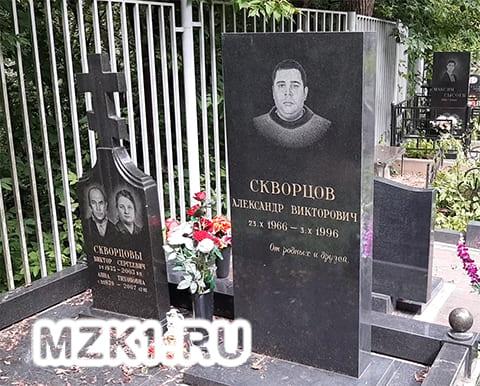 Могила Александра Скворцова
