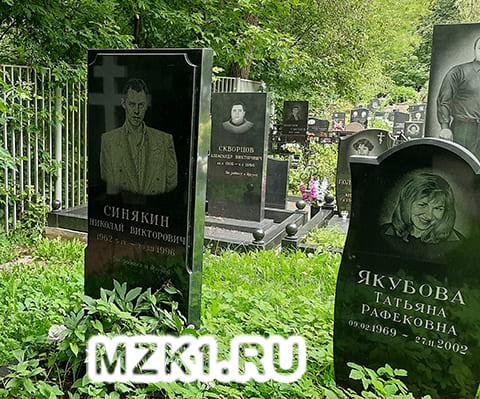 Могила Николая Синякина