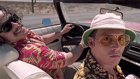 Кадр из фильма «Страх и ненависть в Лас-Вегасе», 1998 года