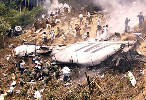 Авиакатастрофа под Токио в 1985 году