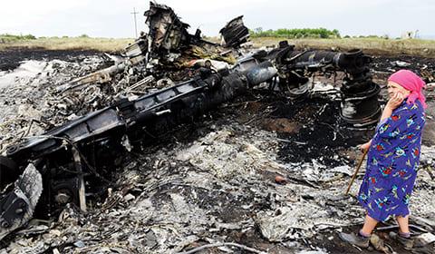 Авиакатастрофа на Украине 2014 года
