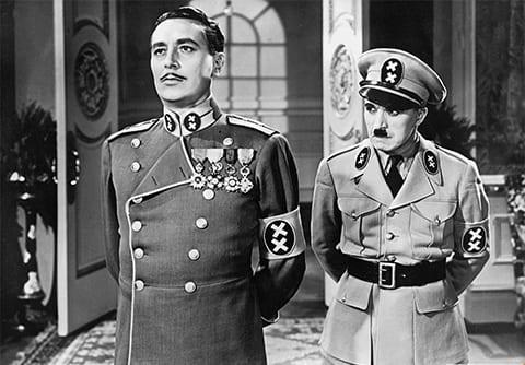 Кадр из фильма «Великий диктатор» (1940)