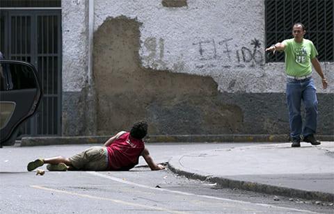 Криминальный город Каракас