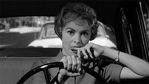Кадр из фильма «Психо» (1960)