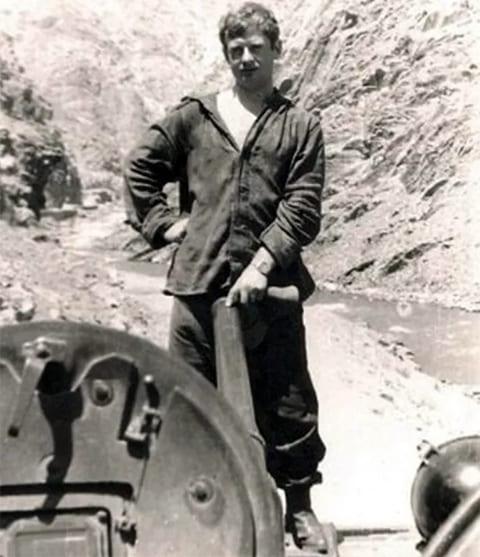 Валерий Радчиков в Афганистане