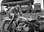 Мотоциклы в годы войны