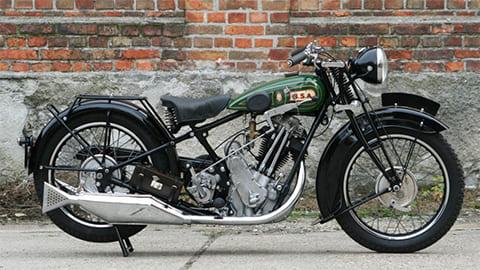 Мотоцикл BSA Sloper