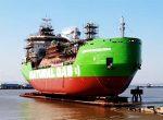 Первый в России СПГ-бункеровщик спустили на воду