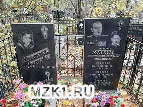 Могила Дарьи Наумовой
