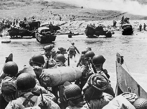 Высадка союзников в Нормандии 6 июня 1944 года