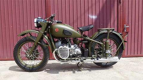 Мотоцикл ТМЗ М-72