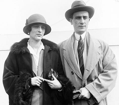 Феликс Юсупов с супругой