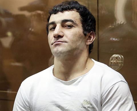 Орхан Зейналов на суде