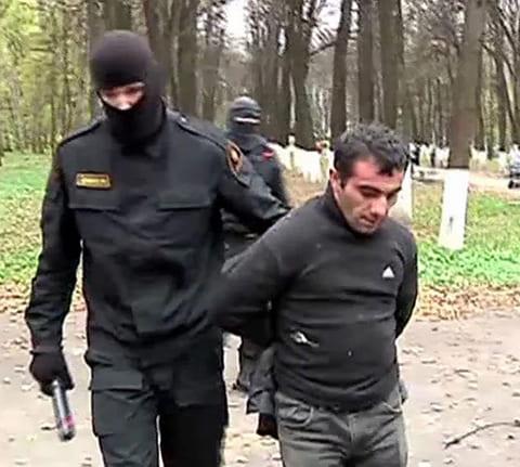 Орхан Зейналов - задержание