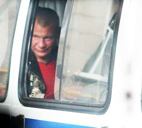 Задержание Галкина после дебоша в баре